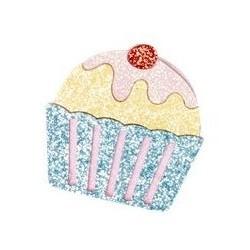 Spilla a forma di cupcake