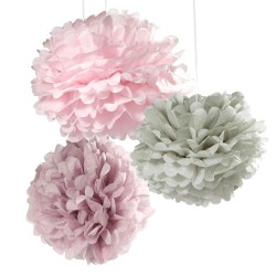 Decorazioni di carta a forma di fiore