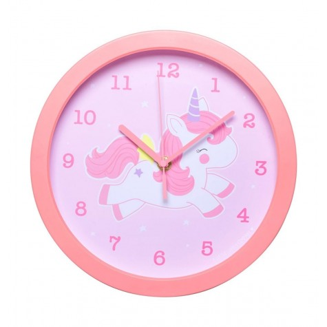Orologio da parete bimba con unicorno