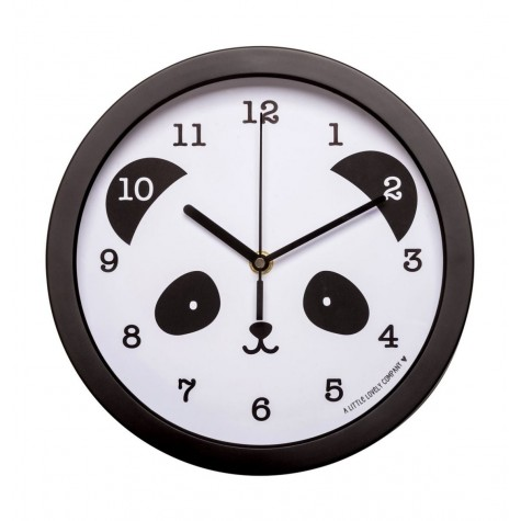 Orologio da parete bimbo fantasia panda