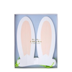 Mascherine a forma di orecchie da coniglio
