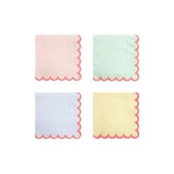 Tovagliolini di carta color pastello