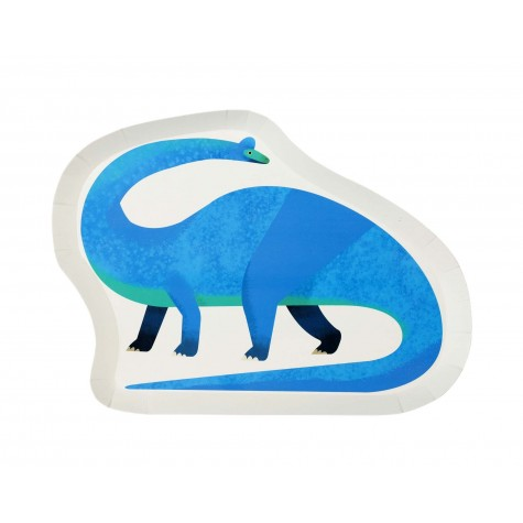 Piatti di carta fantasia dinosauro