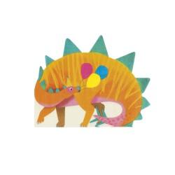 Tovaglioli a forma di stegosauro