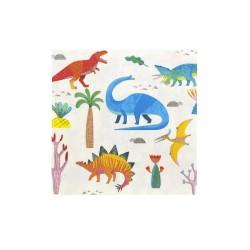 Tovaglioli fantasia dinosauri