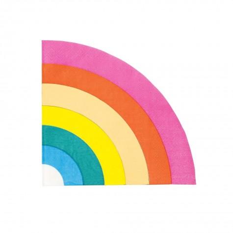 Tovaglioli di carta arcobaleno