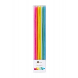 Candele colorate arcobaleno