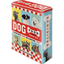 Latta retrò Dog Food