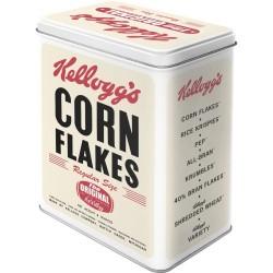 Scatola rettangolare Corn Flakes Kellogg's