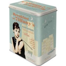 Scatola rettangolare Audrey Hepburn
