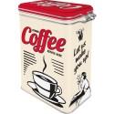 Scatola retrò Strong Coffee