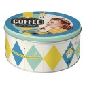 Scatola tonda Coffee