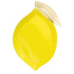 Piatti a forma di limone