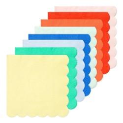 Tovaglioli di carta colorati tinta unita