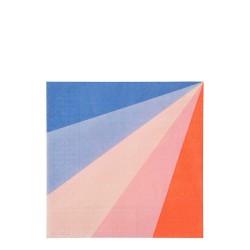 Tovaglioli di carta raggi colorati