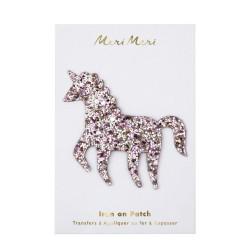 Toppa glitter Unicorno