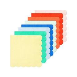 Tovagliolini di carta colorati tinta unita