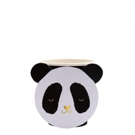 Bicchieri di carta Panda design