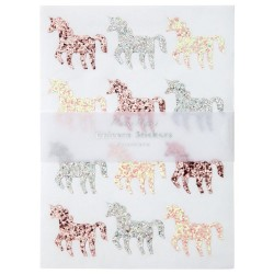 Stickers glitter Unicorno
