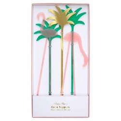 Toppers decorativi Flamingo