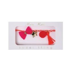 Braccialetto rosa