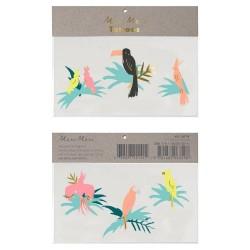 Tatuaggi Uccelli tropicali