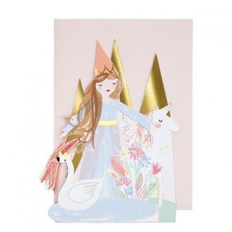 Biglietto Buon Compleanno delle Principesse