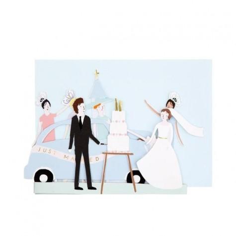 Biglietto di congratulazioni Just Married