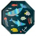 Piatti di carta da portata In fondo al mar