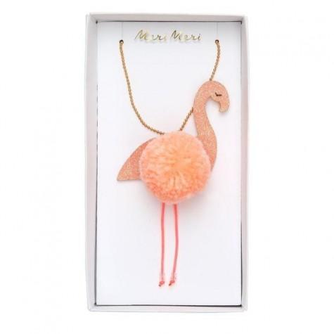 Collanina di perle Flamingo