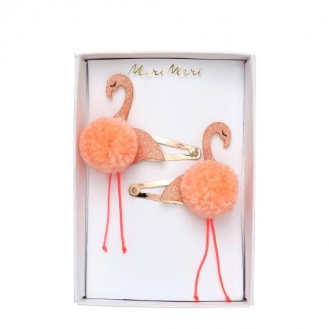 Fermagli per capelli Flamingo