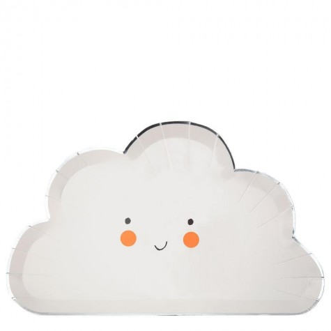 Piatti di carta Happy Cloud