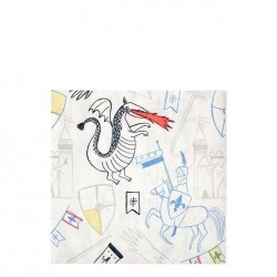 Tovaglioli di carta Cavalieri&Draghi
