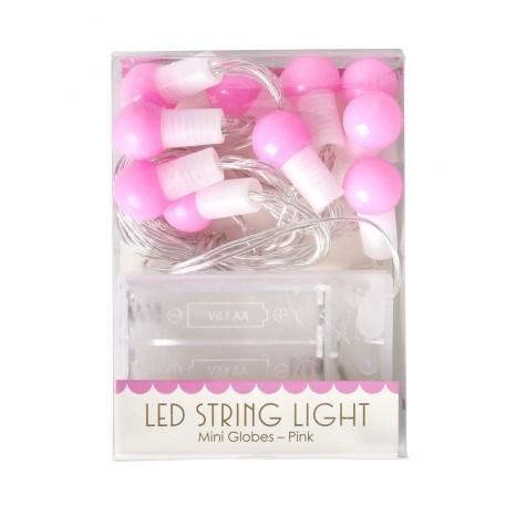 Mini luci LED rosa