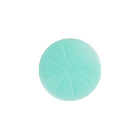 Ghiaccio refrigerante a forma di limone azzurro
