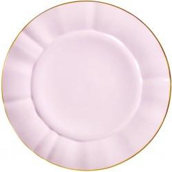 Piatto da portata in porcellana rosa