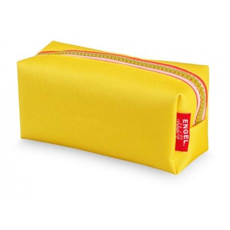 Astuccio portapenne zipper giallo