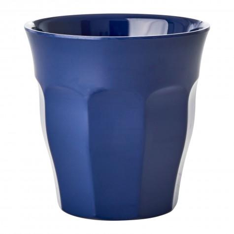 Bicchiere in melamina blu
