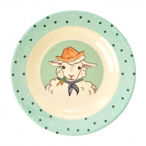 Piatto fondo bimbo con pecora