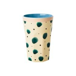 Bicchierone latte fantasia schizzi di acquerello