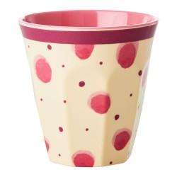 Bicchiere in melamina fantasia a schizzi di acquerello