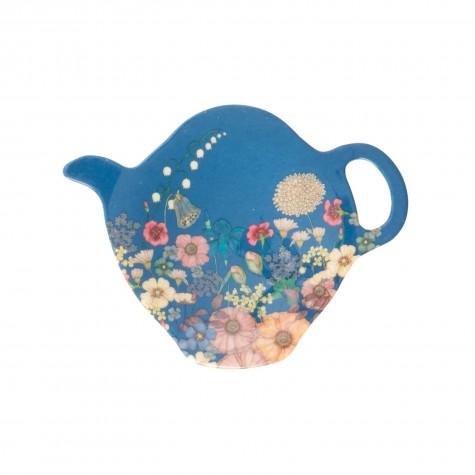 Vassoio per filtro del tè collage di fiori