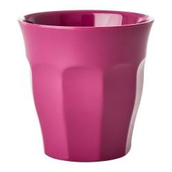 Bicchiere in melamina tinta unita fucsia