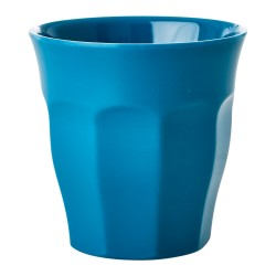 Bicchiere in melamina tinta unita azzurro