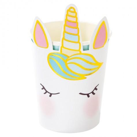 Bicchieri di carta Magic Unicorn