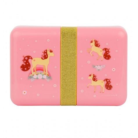Contenitore porta pranzo rosa da decorare