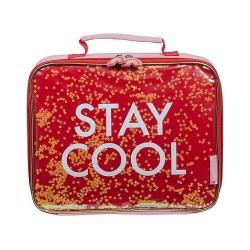 Borsa pranzo termica Stay Cool con glitter