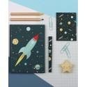 Set da scrivania fantasia spaziale