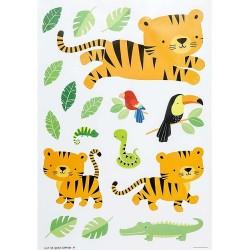 Stickers adesivi da muro fantasia giungla