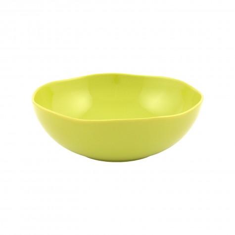 Insalatiera in ceramica verde acido